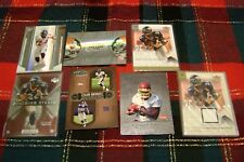 Clinton Portis Washington Redskins/Broncos with game worn jersey card  7 cards