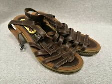 Padders Sandals Leather Size 6