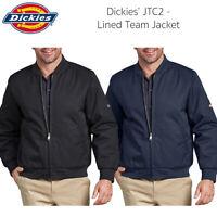 Dickies Men's JTC2 Comfortable Lined Zip Up Team Jacket