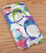 Genuine Coach New York Logo Multi Colored Plastic iPhone 5 / 5s Case! **READ**