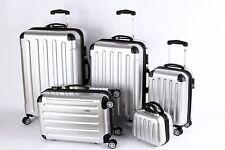 5 Teiliges Kofferset M-XXL + Beautycase Polycarbonat ABS Trolley mit TSA Schloß