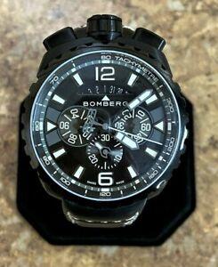 *Bomberg Bolt-68 Chronograph Men's Watch (BS45CHPBA.050-6.3) Free Shipping