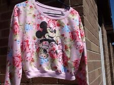 Disney  Mickey Mouse Light Weight Sweatshirt. Longer Sleeves.