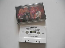 """Thunder """"The Ultimate metal machine"""" Ultra rare 1988 cassette selfproduced"""