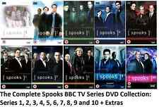 SPOOKS COMPLETE SERIES 1-10 1 2 3 4 5 6 7 8 9 10 DVD Box Set Collection UK New