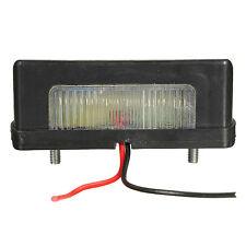 2x 12V 24V LED Number Licence Plate Light Rear Tail Camper Truck Trailer Lo J5U2