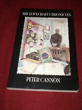 Lovecraft Chronicles by Peter Cannon (2004, TPB) SIGNED first print Cthulhu