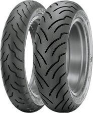 Dunlop American Elite Front & Rear Tires, 130/70B-18 & 180/65B-16  31AE78/34AE57