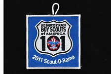 BSA mint 2011 Los Padres Council Scout-O-Rama event patch w/ loop merged council