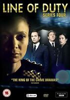 Line Of Duty - Serie 4 [DVD] Temporada Cuatro 4 Cuarta 4 sin Sellar Unplayed