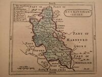 Buckinghamshire - original antique map, c1784