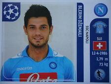 Panini 67 Blerim Dzemaili SSC Napoli UEFA CL 2011/12