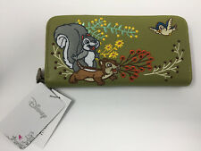 Loungefly Disney Snow White And The Seven Dwarfs Woodland Wallet new green