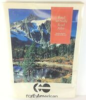 Vintage Rand McNally Road Atlas United States, Canada & Mexico (1993)