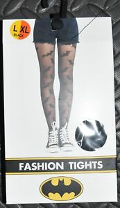 BATMAN TIGHTS PRIMARK Ladies Fashion Pantyhose Small SM - XL NEW