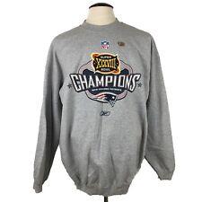NEW ENGLAND PATRIOTS Super Bowl XXXVIII Champions Sweatshirt Vintage Size Large