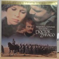 Doctor Zhivago Deluxe Letter Box Edition CX MGM  Laserdisc 081018LD