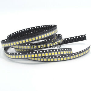 500 pcs SMD SMT 3528 White Super bright WHITE LED lamp Bulb NEW