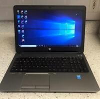 """HP ProBook 650 G1 - 15.6"""" - Core i5 4300M - 8 GB RAM - 500 GB - Windows 10 Pro."""
