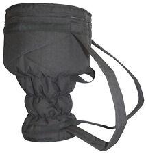 """Kaces Djembe Gig Bag, Fits For 14"""" Djembes, Elastic Fit, Padded Straps, KJEM-MD"""