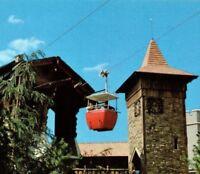 CLOSED in '98 Skyway over park Walt Disney World Resort Florida Vintage Postcard