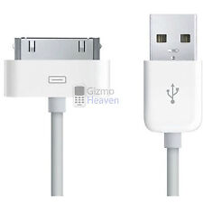 USB 2.0 DATA SYNC CABLE LEAD FOR IPOD iPHONE 4S 4 3G 3GS - 12 MONTHS WARRANTY