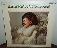 Renata Tebaldi CHRISTMAS FESTIVAL - London OS 26241 SEALED