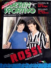 Guerin Sportivo 15 1982  con inserto Gli ALBI DEL MUNDIAL Belgio - Paolo Rossi