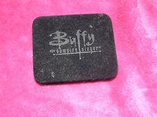 Rare Noir Officiel Buffy the Vampire Slayer Velours Boîte pour Réplique Croix Chaîne