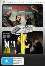 The Four Brothers  / Italian Job (DVD, 2007, 2-Disc Set) Mark Wahlberg.