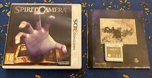 Nintendo 3DS Spirit Camera game