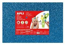 Espuma Eva Thermoform. 40x60cm Azul Purpurina 3 Aluminio Apli Agipa