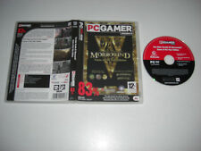 THE ELDER SCROLLS 3 III MORROWIND Game Of The Year Pc CG GOTY BLOODMOON TRIBUNAL