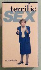 TERRIFIC SEX the dr ruth westheimer video VHS VIDEOTAPE