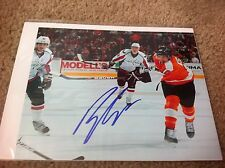 Brayden Schenn Autographed 8x10 Photo Philadelphia Flyers LA Kings