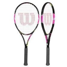WILSON BURN LS rose Raquette de tennis au R-U