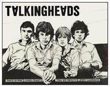 Talking Heads  - POSTER  - Jerry Harrison Tina Weymouth Chris Frantz David Byrne