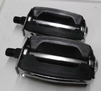 New Black bow pedals 1/2 fits schwinn murray huffy sting ray typhoon others