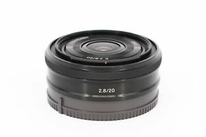SONY 20mm f/2.8   E-mount     Professionally tested