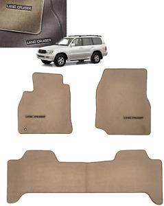 OEM TOYOTA 1998-2002 Land Cruiser Floor Mats Carpet (OAK) PT206-60012-04