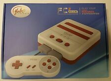 NEW RED/WHITE YOBO FC TWIN 2 SLIM SYSTEM CONSOLE FOR NES & SNES GAMES USA VER