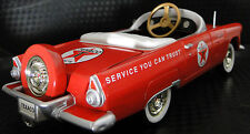 1955 Ford Thunderbird Pedal Car A Vintage Metal Show Hot T Rod Midget Model 1955