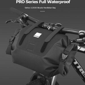 Waterproof Bike Bicycle Cycling Handlebar Bag Storage Pouch MTB Pannier Basket