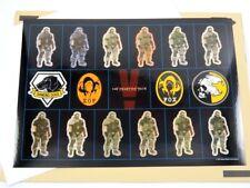Metal Gear Solid V 5 The Phantom Pain Exclusive Stickers H-1 - JAPAN HK-MGSV-H