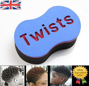Original Twists Hair Twist Sponge Foam Hair Brush For Waves Saloon Quality