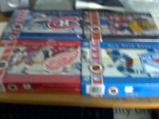 A LOT OF 4 ORIGINAL SIX HOCKEY TEAMS HISTORY ON CD FORMAT FOR MAC/PC COMPUTER