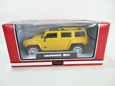 SAICO 'HUMMER H3' YELLOW. MIB/BOXED. 1:50? SPORT CAR COLLECTION.