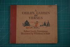 A Child's Garden of VERSES-R L Stevenson, Willebeek Le Mair: 1st 1931 HB VGC