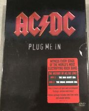 AC/DC Plug Me In DVD AUSTRALIAN ROCK MUSIC COLECTOR'S BOX SET 5-HOURS + MORE R0