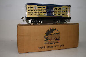 MTH STANDARD GAUGE 1988 TCA CONVENTION CATTLE CAR, EXCELLENT, BOXED